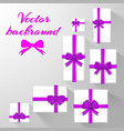festive greeting cards template vector image