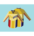 Hockey Sportswear Uniform vector image
