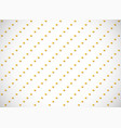 horizontal card seamless pattern with gold vector image vector image