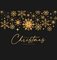 merry christmas elegant holiday design vector image