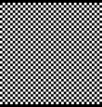 regular pattern of squares in alternating black vector image