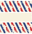 Abstract american background striped ripped paper vector image