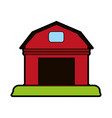 rural barn icon image vector image vector image