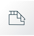 stairs icon line symbol premium quality isolated vector image vector image