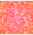 Threadbare background with triangles vector image vector image