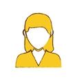 avatar woman icon vector image vector image