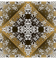 baroque seamless pattern glowing damask vector image vector image
