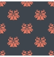 Dainty vintage damask style pattern vector image vector image