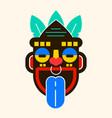 mask idol icon cartoon of mask idol icon vector image vector image