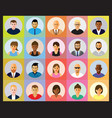 people profile vector image