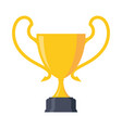 trophy award vector image