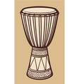 African drum-music instrument vector | Price: 1 Credit (USD $1)