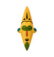 african ethnical masking art object on vector image vector image
