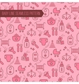 Baby Seamless Pattern Backgound vector image vector image