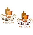 Bakery Shop sign or label vector image vector image
