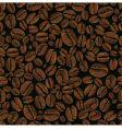 coffee bean seamless vector image vector image
