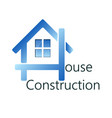 home construction business vector image vector image