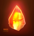 Magic Stone vector image