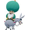 Nasreddin Hodja vector image vector image
