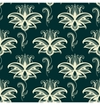 Persian paisley floral seamless pattern vector image vector image