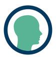 profile design vector image