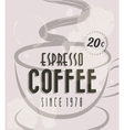 Retro vintage coffee tin sign vector | Price: 1 Credit (USD $1)