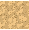 Seamless pattern with elements of brickwork vector image