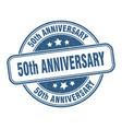 50th anniversary stamp anniversary label