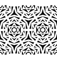 Abstract Black Rose Pattern vector image vector image