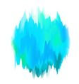 Abstract Painted Form in Blue vector image