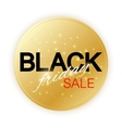 Black Friday Sale sign template Promotional vector image