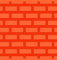 brick wall seamless texture red bricks background vector image