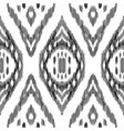 ikat seamless pattern ethnic ornament vector image