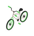isometric bicycle vector image vector image