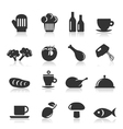 Meal icons8 vector image