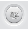 Private Security Icon vector image vector image