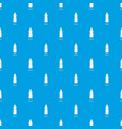 sport bottle pattern seamless blue vector image