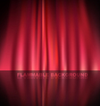 Abstract curtain baclground vector image