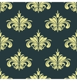 Arabesque damask style seamless background pattern vector image vector image
