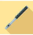 flute icon flat style vector image vector image