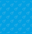 love potion pattern seamless blue vector image vector image