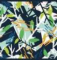 natural seamless pattern with plant branches vector image vector image