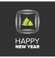 New Year badge vector image vector image