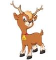 One little christmas reindeer vector image vector image