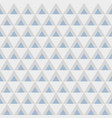 abstract geometric seamless pattern of triangles vector image vector image