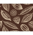 cocoa pattern vector image