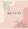 organic minimal trendy background template