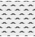 seamless pattern with mustaches vector image
