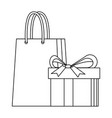 Shopping gift box paper bag market commerce