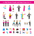 Stage Props Set vector image vector image